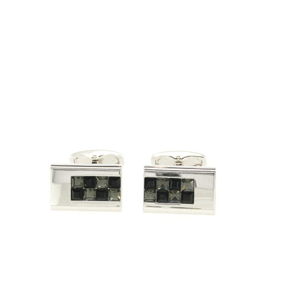 City Collection Greys Cufflinks