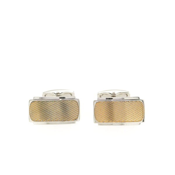 City Collection Gold Cufflinks