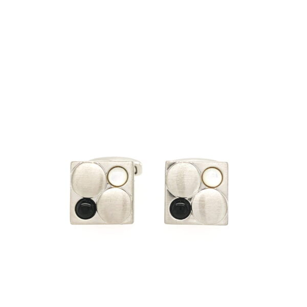 City Collection Dots Cufflinks