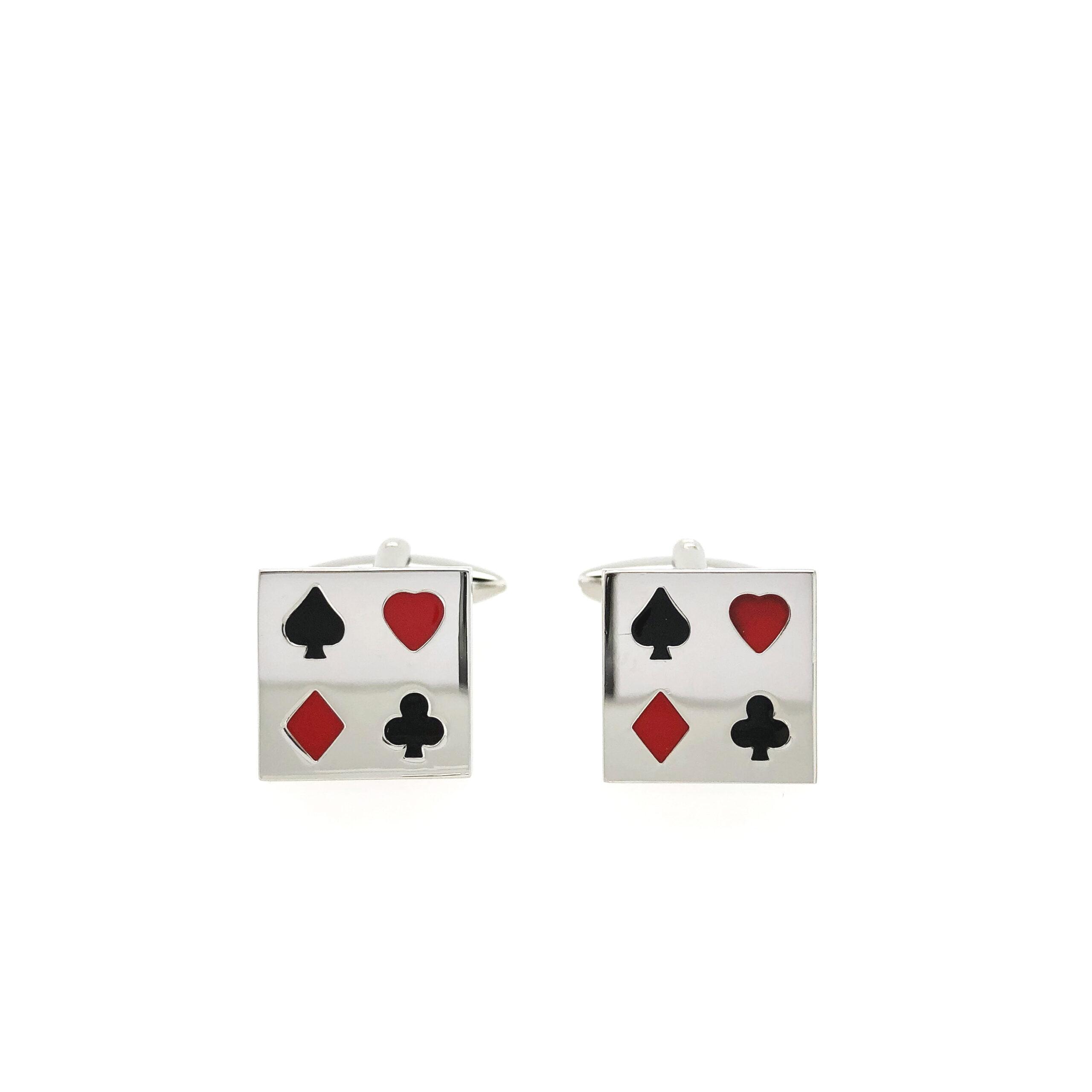 Playing Cards Cufflinks