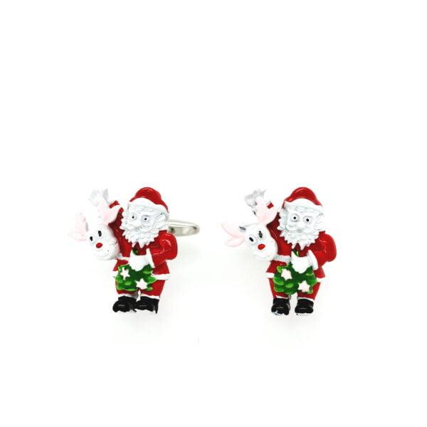 Santa & Rudolph Cufflinks