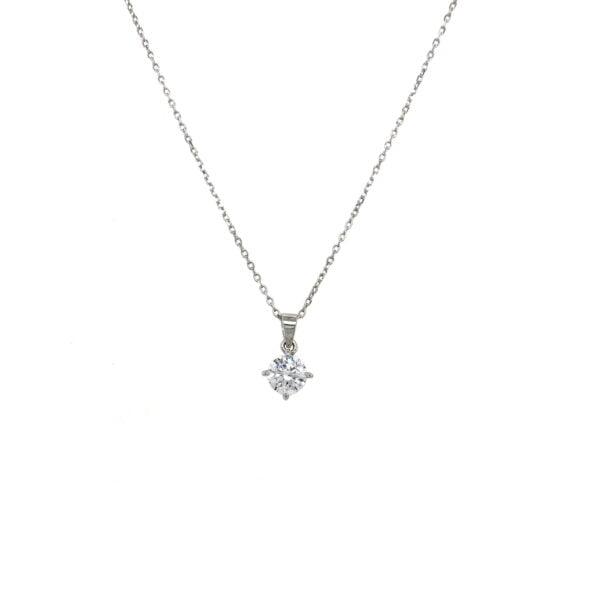 Stud Pendant Necklace